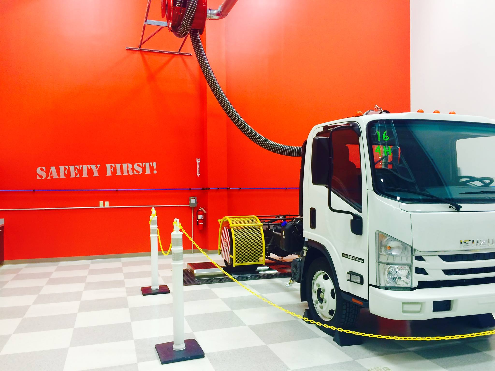 Isuzu Center Of Excellence Training And Parts Distribution Center